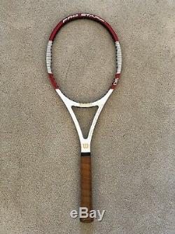 RARE Wilson Pro Staff 90 Tennis Racquet Grip Size 4 3/8 Almost Mint