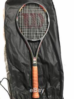 RARE Wilson Pro Staff Classic 85 4 1/4 L2 Edberg Wimbledon MUST SEE