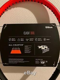 Raquette Wilson Clash 100L (280g) 2019 TAILLE MANCHE-3 US 4 3/8 GRIP-3