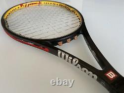 Rare Used Old Stock Wilson Hyper Pro Staff Tour 90 4 3/8 grip Tennis racquet