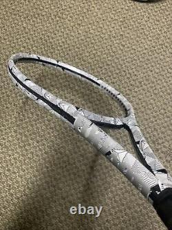 Rare Wilson Clash 100 Prototype (Dazzle) Grip 4 1/4 Black/white with new bumper