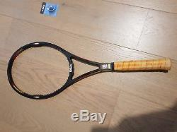 Rare Wilson Pro Staff Classic 6.0 85 Midsize Edberg Tennis Racket L4 4/2 grip