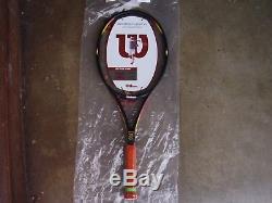 Rare/Wilson ProStaff 6.1 Classic 25th Anniversary Tennis Racquet Plastic On Grip