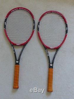 Rf 97 Roger Federer Pro Staff Autograph Tennis Rackets, (sold As A Pair)