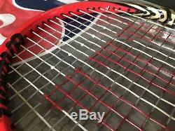 Roger Federer Personal Wilson Pro Stock Tennis Racquet 2012 Six. One 90 Custom