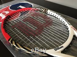 Roger Federer Personal Wilson Pro Stock Tennis Racquet Six. One 90 Custom RARE