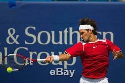 Roger Federer's Pro Stock Wilson nCode Tour 90 Paintjob Racquet