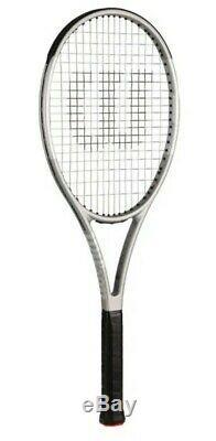 Special Edition Wilson Pro Staff 97 Platinum Tennis Racket Unstrung Grip 2