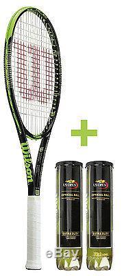 Tennisschläger Wilson Blade 98 16x19 Modell 2015 + 2x US Open