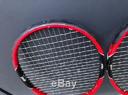 Two (2) Wilson Pro Staff RF 97 Tennis Racquets 4/14