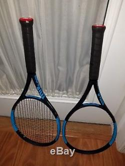 Two Wilson Ultra 100 Countervail 4 1/2 Tennis Racquets, Free Shipping