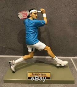 ULTRA RARE Roger Federer Wilson Nike Figurine Model