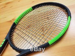 Used Wilson 2016 Blade 104 Grip 4 1/2 Tennis Racquet