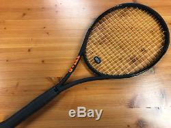 Used Wilson 2017 Burn 100S CV Black Grip 4 1/4 Tennis Racquet