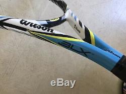 V. Azarenka Personal Wilson H25 Juice Paint Job Tennis Racquet Pro Stock Racket