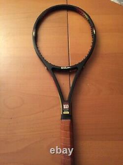 Very Rare Tennis Racquet Wilson Pro Staff 85 Original Paintjob Edberg Classic