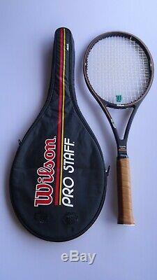 Vintage Wilson Pro Staff 6.0 85 tennis racket 4 1/2 Sampras St. Vincent KRQ