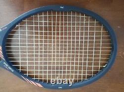 Vintage Wilson Ultra 2 Midsize Boron Original 4 1/2 Grip Tennis Racquet with Case