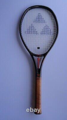 Vintage very rare Fischer HITEC King tuning racket Made in Austria Head Wilson