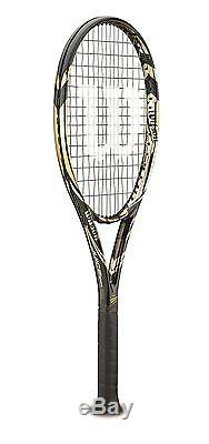 WILSON 100 YEAR JUICE 100S Package bag grips tennis racquet 4 3/8 Reg $360