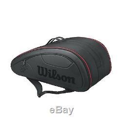 WILSON Federer Super DNA 12 pack tennis racket racquet bag Authorized Dealer