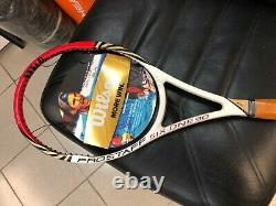 WILSON PRO STAFF BLX 90 FEDERER 2012 339 grams L3 or L4 NEW! RARE