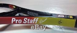 WILSON PRO STAFF CLASSIC 85 (Pro Staff 6.0 85 paintjob) EDBERG 4 1/2 BRAND NEW