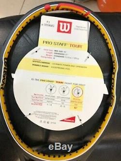 WILSON PRO STAFF HYPERTOUR 90 ROGER FEDERER TENNIS RACKET 340 gr. NEW! RARE