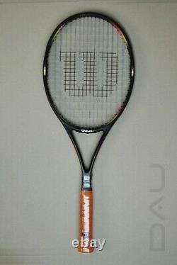 WILSON Pro Staff Classic 95 16x18 Edberg racket grip 5 near Mint