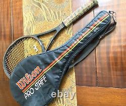 WILSON St Vincent 85 PRO STAFF MIDSIZE TENNIS RACQUET 4 1/4 L2 With Bag
