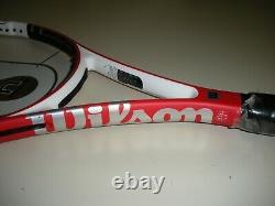 WILSON nCODE n-SIX-ONE 95 16X18 TENNIS RACQUET 4 3/8 BRAND NEW