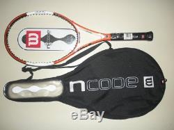 WILSON nCODE nTOUR 95 MP TENNIS RACQUET 4 1/2 BRAND NEW