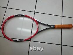 Wilson 2014-16 RF 97 Pro Staff Federer 4 3/8 grip red buttcap Tennis Racquet