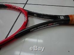 Wilson 2014-16 RF 97 autograph Pro Staff Federer 4 1/8 grip Tennis Racquet