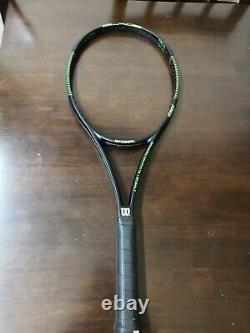 Wilson 2015 blade 98 head 18x20 10.7oz 4 3/8 grip GOOD SHAPE Tennis Racquet