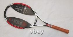 Wilson Asian K Factor K90 Six One Tour 6.1 L2 Tennis Racquet 4 1/4 NEW AK90