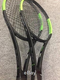 Wilson Blade 98 16x19 CV STRUNG 4 3/8 (Tennis Racket Countervail 304g 10.7oz)