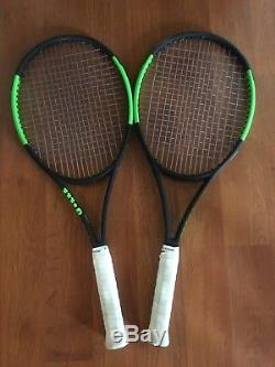Wilson Blade 98 16x19 Countervail 2017 (Two Racquets)