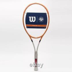 Wilson Blade 98 16x19 v7 Roland Garros 4 1/2 Limited Edition Unstrung Brand New