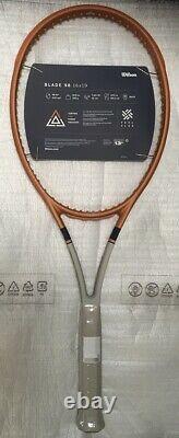 Wilson Blade 98 16x19 v7 Roland Garros Tennis Racquet 4 1/4 Racket LTD. EDITION