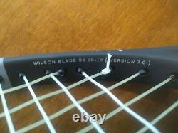 Wilson Blade 98 16x19 v7 Tennis Racquet Grip Size 4 3/8