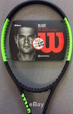 Wilson Blade 98 18/20 Countervail Grip 3 Unstrung