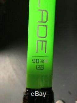 Wilson Blade 98 18 x 20 Countervail Green Tennis Racquet Grip Size 4 1/4
