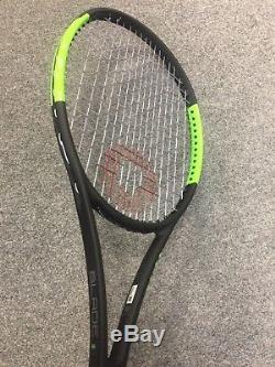 Wilson Blade 98 18x20 CV STRUNG 4 1/4 (Tennis Racket Countervail 10.7oz 304g)