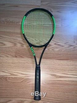 Wilson Blade 98 S GRIP No. 3 18X16 10.4 OZ
