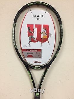 Wilson Blade 98 Tennis Racquet 18 x 20 Grip Size 4 1/4