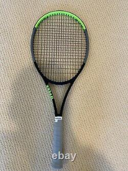 Wilson Blade 98 V7 18x20 Tennis Racquet 3/8, Excellent, Rpm Rough