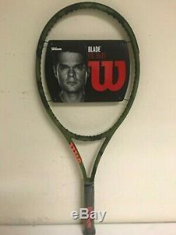 Wilson Blade 98L 16 x 19 Camo Edition Tennis Racquet Grip Size 4 1/4
