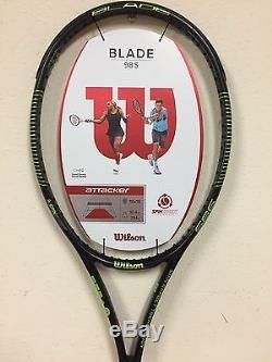 Wilson Blade 98S Tennis Racquet 18 x 16 Grip Size 4 1/4