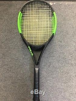 Wilson Blade SW 104 Autograph STRUNG 4 1/8 Serena Williams Countervail CV Racket